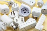 various types of power adaptors for travel to foreign countries